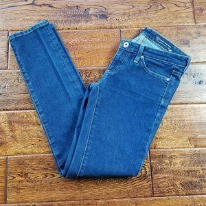 <AG Jeans> stilt cigarette skinny jeans